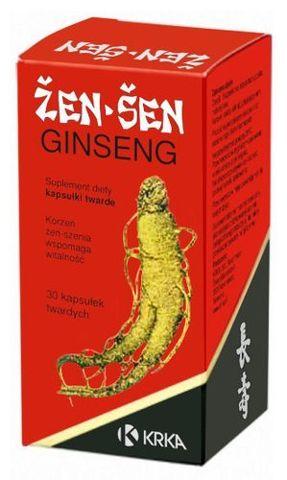 ŻEŃ -SZEŃ Ginseng x 30 kapsułek